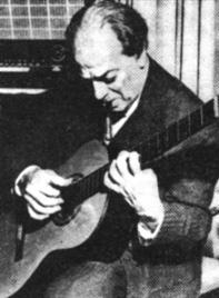 Villa L met gitaar