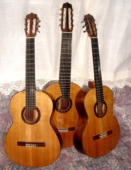 David Russell\'s John Gilbert guitars